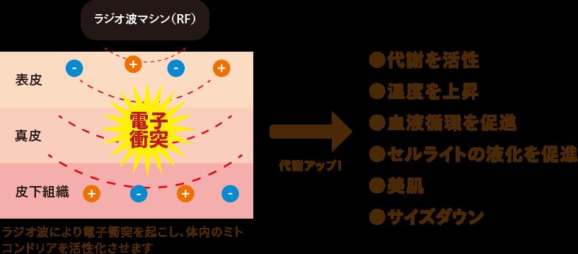 ラジオ波の効果